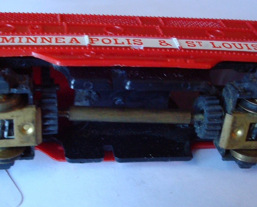 31037 with Brass, rather than plastic drive shaft