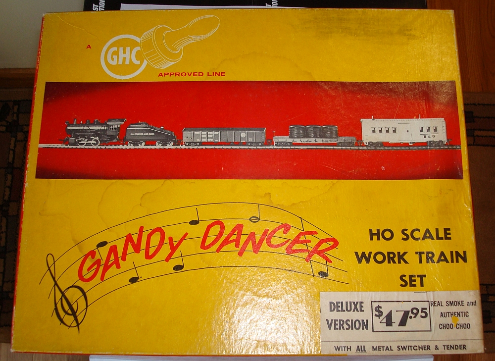 Gandy Dancer Set Box